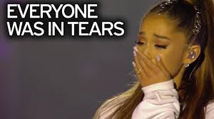 ariana grande shares adorable video of toddler moved to tears