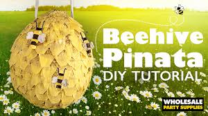 bumblebee pinata diy beehive pinata party ideas activities by wholesale party