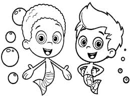free bubble guppies coloring pages 65 best children cartoon characters images on pinterest cartoon