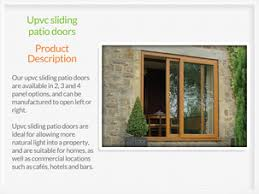 Upvc Sliding Patio Doors Sliding Patio Doors Huddersfield