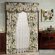 Jacobean Floral Curtains Floral Curtains Touch Of Class