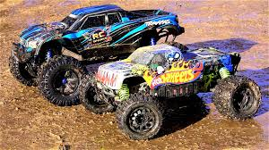 youtube monster trucks racing rc adventures traxxas x maxx vs hpi savage flux xl wheels