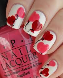 beautiful heart shape nail art designing fashion u0026 trend