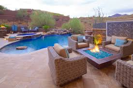 Glass Firepits Pits Features Photo Gallery