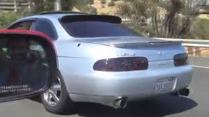 lexus sc400 slammed lexus sc400 megan racing n1 exhaust drivebys and revs youtube
