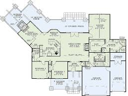 Craftsman Style House Floor Plans Craftsman Style House Plan 4 Beds 3 00 Baths 3345 Sq Ft Plan 17