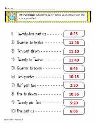 time worksheets in words worksheets pinterest telling time