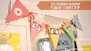 eleanor turns 2 u0026 gabba gabba dance party balancing
