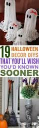 Halloween Diy Decorations by Best 25 Diy Halloween Decorations Ideas On Pinterest Halloween