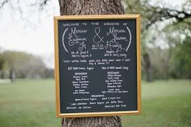 wedding program chalkboard 7 pretty wedding program ideas aisle