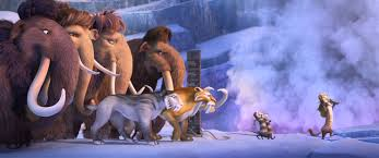 ice age collision making movies
