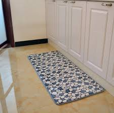 Country Style Kitchen Rugs 50 120cm Country Style Bibulous Antiskid Memory Foam Carpet Modern