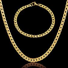 gold necklace chains wholesale images Infinity necklace and bracelet set for men women indian jewelry jpg