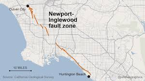 Earthquake Map Los Angeles by Earthquakes In California Are Discovered More Than 15 Miles Deep