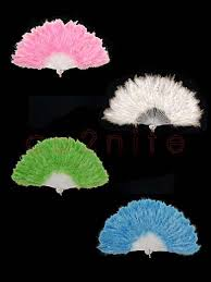 burlesque feather fans coloured burlesque feather fans