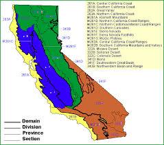 california map regions use of ecoregions hydrologic unit codes hucs and marine