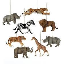 animal ornaments rainforest islands ferry