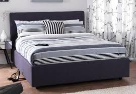 serene lucca upholstered ottoman storage bed frame best price