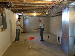 Concrete Sealer For Basement - marvellous design how to clean a basement floor to paint an epoxy