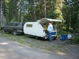 building a tent platform how and why i built my own teardrop camper trailer make