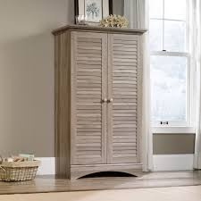 Harbor View Craft Armoire Harbor View Storage Cabinet 400742 Sauder