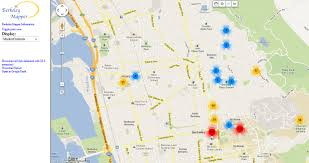 Map Berkeley Calbug
