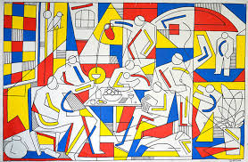 cubism colours it s that simon cooper s cubism inspired artworks are a