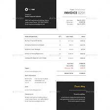 Illustration Invoice Template Invoice Template By Bddesignhub Graphicriver