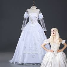 Queen Halloween Costume Buy Wholesale White Queen Halloween Costume China
