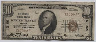 Winterhaven Florida Map by Winter Haven Hometown Currency