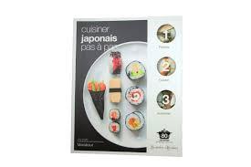 apprendre à cuisiner japonais cuisiner japonais pas à pas marabout