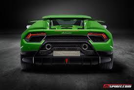 Lamborghini Huracan Coupe - official 2018 lamborghini huracan performante gtspirit