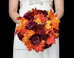 silk wedding flower packages 139 best fall wedding flowers images on bouquets