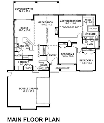 Southwest House Plans Adobe Southwestern Style House Plan 3 Beds 2 00 Baths 1619 Sq