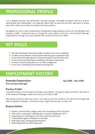 Resume Sample Restaurant Manager by Hospitality Resume Template