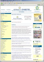 Kids Chat Rooms Online by Children With Diabetes History Of Cwd