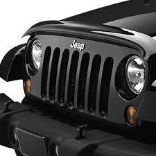 weathertech jeep wrangler weathertech 50169 easy on smoke and bug deflector