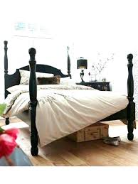 Black Four Poster Bed Frame Bed With Posts 4 Poster Bed Frame Bed Frames With Posts Four Bed