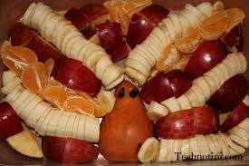 funny thanksgiving toasts how not to make a turkey shaped fruit salad technotini