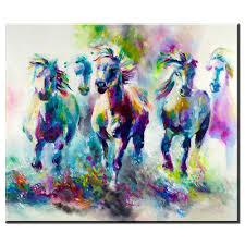 imagenes abstractas hd de animales xdr421 hd pop art acuarela animal pintura al óleo sobre lienzo