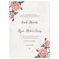 sle wedding programs outline budding blooms wedding invitations invitation wording botanical