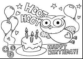 printable birthday cake coloring free wedding pages cartoon
