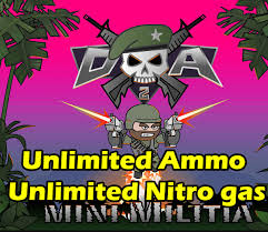 hacked apk mini militia unlimited health ammo nitro pro pack hack apk