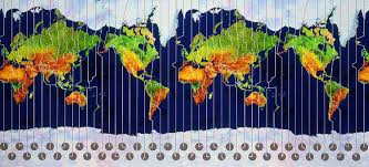 World Time Map What U0027s The Time In New York And What Time Zone Is The Uk World