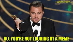 No You Are Meme - if you thought the dicaprio memes died with his oscar victory here