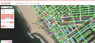 Sf Crime Map Crime In Top 10 Tourist Destinations In Los Angeles