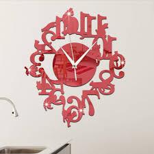 Interesting Wall Clocks Uncategorized Unique Wall Clocks Flower Wall Clock More Info