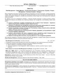 risk management resume sles 28 images operational risk manager