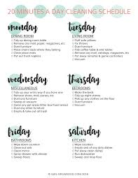 get your home holiday ready in 20 minutes a day w free printable
