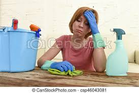 Cleaning Table Stock Images Royalty by Pictures Of Woman Cleaning Living Room Table With Cloth And Spray